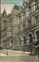 Brooklyn NY Post Office c1910 Postcard