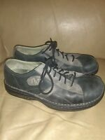 "Merrrell Oxfords mens Size 11 ""World Peace"" Charcoal Black Leather Shoes. NICE !"