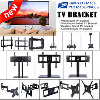 "Universal Table Top TV Stand Base Bracket Mount 37""-55"" For Flat-Screen LED LCD"