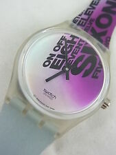 SLK115 New Swatch 1997 Funk Master Musicall Candy Dulfer Swiss Made Alarm