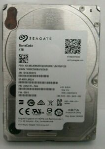 "4TB Seagate Barracuda ST4000LM024 2.5"" SATA III  Hard Drive HDD 15mm Server"