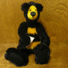"Artist Exclusive BENNIE BEE, 10"" mohair jointed LE We Be Bears by P Crosthwaite"