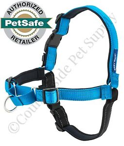 PetSafe Deluxe EasyWalk Harness Medium Ocean