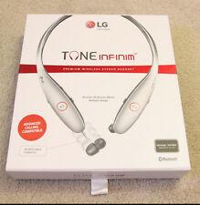 LG TONE Infinim HBS-900 Bluetooth Wireless Stereo Headset HBS900 Silver/Black
