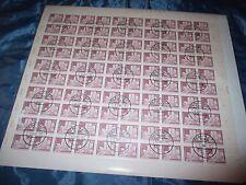 Briefmarken  DDR  ,  Post - Bogen  ,  100  x  15 Pfennig , Berlin Fischerinsel