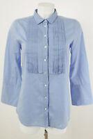 J.CREW Bluse Gr. 34 / XS 100% Baumwolle Klassische Damenbluse Blouse Shirt