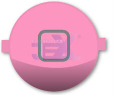 High Quality Gloss Pink Home Button for iPhone 4S/4GS 16GB/32GB/64GB