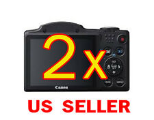 2x Canon PowerShot SX500 IS Camera Clear LCD Screen Protector Guard Shield Film