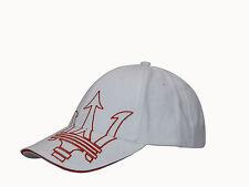 CAPPELLINO MASERATI  CORSE BIANCO  ORIGINALE CAP HAT Mütze