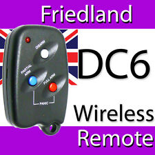 FRIEDLAND DC6 REMOTE CONTROL WIRELESS FOB 433MHz DWF1 & OTHER COMPATIBLE SYSTEMS