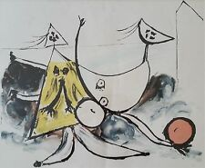 Rare Abstract PICASSO Lithograph from the Marina Picasso Estate Collection, 1979