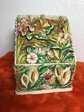 Harmony Kingdom Byron's Hideaway Secret Garden Picturesque Tile The Long Sleep G