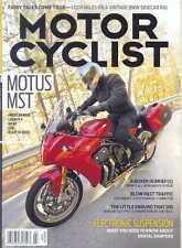 MOTORCYCLIST MAGAZINE March 2015 (NEW COPY)