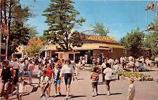 New Hampshire postcard Salem Canobie Park The Arcade, amusement park
