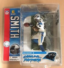 Steve Smith Mcfarlane NFL Series 14 Rookie Action Figure White Jersey Sealed!