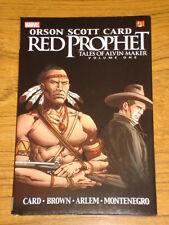 RED PROPHET GRAPHIC NOVEL TALES OF ALVIN MAKER V1 MARVEL COMICS 9780785125853
