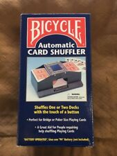 Bicycle Automatic Card Shuffler New Battey Operated