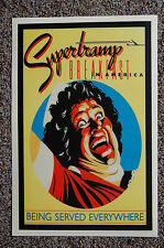 Super Tramp Concert Tour Poster 1979
