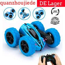 High Speed Ferngesteuertes Auto RC Stunt Auto Rennauto Buggy Car Spielzeug Blau