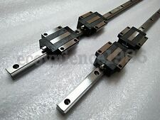 2 sets HSR25-1500mm Hiwin Liner rail & 4pcs HSR25CA Block Bearing