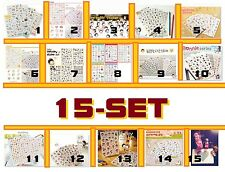 Sticker Diary Deco Planner Journal Scrapbook Schedule calendar Filofax [15set]