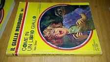GIALLO MONDADORI # 1054-VAN SILLER-COME IN UN LIBRO GIALLO-1969