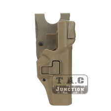 Serpa Level 3 Right Hand Pistol Holster +Jacket Slot for Glock 17 19 22 23 31 32