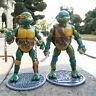 Set Of 4 Action Figures Toys Mutant Ninja Turtles Kaiyodo Revoltech TMNT Teenage