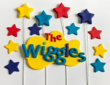 WIGGLES CAKE TOPPER & WIGGLES THEME STARS !!!!  Value Pack WOW!!
