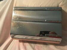 Vintage Aluminum Foil Waxed Paper Towel Dispenser Pink/Chrome 50's