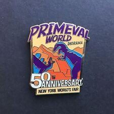 50th Anniversary New York World's Fair Primeval World Diorama Disney Pin 107457
