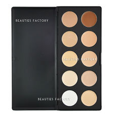 BF 10 Color Camouflage & Concealer Foundation Natural Makeup Palette 610