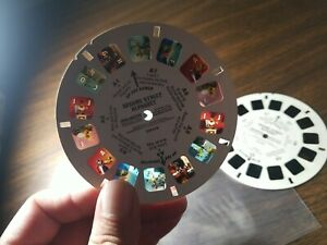 1982 Sesame Street Alphabet View Master 3 Reel Set - Rare HTF Vintage Jim Henson
