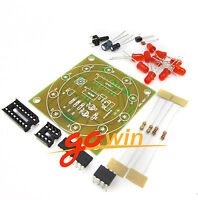 Energy-saving 38 Leds Lamps Diy Kits Electronic Suite 2.4w 170-210lm Pbt Flame Retardant Shell Ac 85v-277v Punctual Timing Integrated Circuits Electronic Components & Supplies