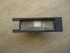 FIAT GRANDE PUNTO O/S REAR NUMBER PLATE LIGHT LENS 51767932 (2006-2012)