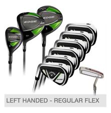 Callaway Edge 10-Piece Golf Club Set Left Handed Regular, NEW SHIP FROM STORE