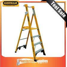 Gorilla 2.4m 150kg 8 Step Platform Fibreglass Ladder FPL008-I