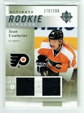 11-12 UD Upper Deck Ultimate Rookie Jerseys  Sean Couturier  /200  Dual Jerseys