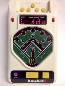 TESTED Vintage 1979 Entex Baseball 2  Retro 2-Player Handheld Video Game
