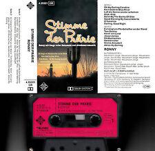RONNY - Stimme der Prärie > MC Musikkassette