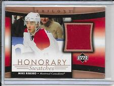 05-06 Trilogy Mike Ribeiro Honorary Swatches Jersey