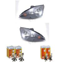 Halogen Scheinwerfer Set FORD FOCUS 98 Bj. 10/01-11/04 H7/H1 mit Blinker 1368714