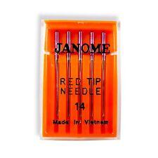 Genuine Janome Red Tip Sewing Machine Needles