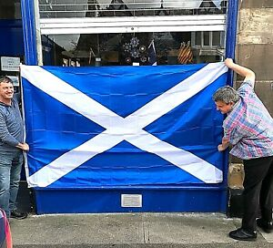 LARGE 8' x 5' Saltire  ~**Only £16.95**   ~   Limited Availability