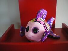 Ty Beanie Boos FLIPPY the fish 6 inch  NWMT.  LIMITED QUANTITY.
