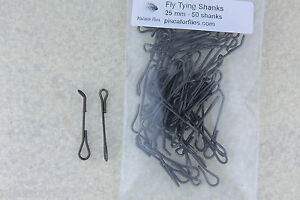 50 piece fly tying Intruder shanks for Articulated Fly patterns 25 30 40mm