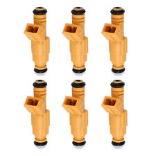 6X Bosch Fuel Injectors For JEEP 87-98 4.0L OEM 0280155710 0280155700 EV1 4 hole