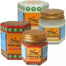 TIGER BALM PAIN RELIEF OINTMENT MASSAGE RED WHITE MUSCLE RUB ACHES 2 x 30g