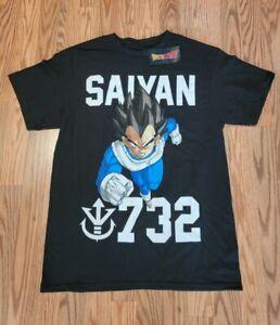 NEW Dragon Ball Z Vegeta Saiyan 732 Men's Medium Shirt Fast Shipping