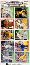 RARE!!--1998/99 Select Cricket Stickers Set (50)+ Album